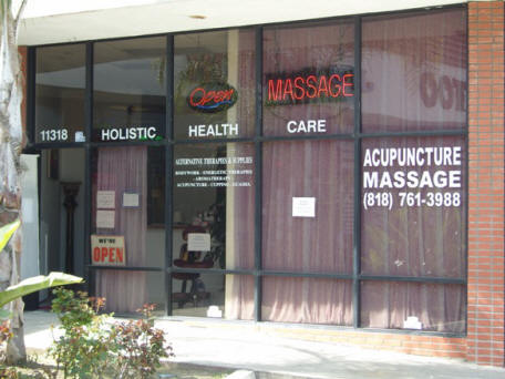 Holistic Health Care Store Front